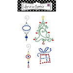 Prima - Say It In Studs Collection - Self Adhesive Jewel Art - Bling - Christmas Assortment 1