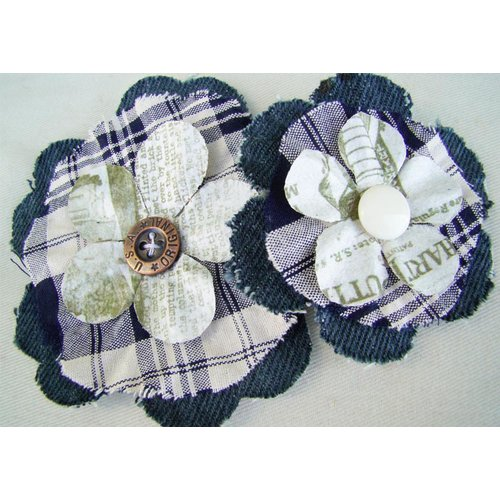 Prima - Prairie Flowers Collection - Fabric Flowers - Dallas, CLEARANCE