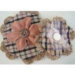 Prima - Prairie Flowers Collection - Fabric Flowers - Dakota, CLEARANCE