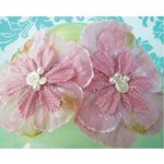Prima - Bonnet Blooms Collection - Flowers - Pinkie