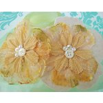 Prima - Bonnet Blooms Collection - Flowers - Canary