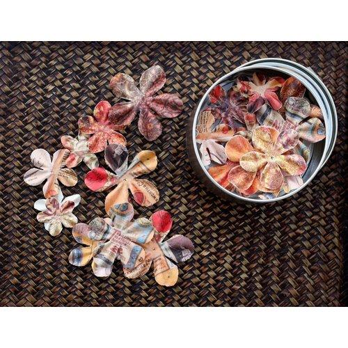 Prima - Artistry Flowers Collection - Flower Mini Tin - Petal