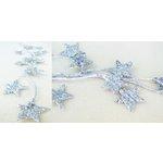 Prima - Galaxy Stars Collection - Glittered Star Vine - Silver