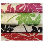 Prima - Burlap Sheets - Large - Floral, CLEARANCE