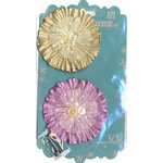 Prima - Bonnet Blooms Collection - Leather Flowers - Petunia, CLEARANCE