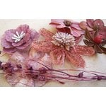 Prima - Wildwood Collection - Wood and Mulberry Flowers - Rugosa