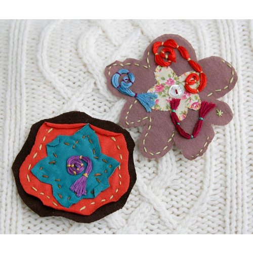 Prima - Primrose Collection - Fabric Flowers - Debbie, CLEARANCE