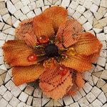 Prima - Homespun Elegance Collection - Flower Embellishments - Pecos