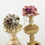 Prima - Gibson Collection - Flower Embellishments - Irene