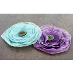 Prima - Gypsy Petals Collection - Flower Embellishments - Chelsea