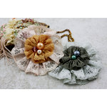 Prima - Jewel Box Collection - Flower Embellishments - Glade