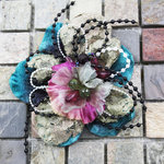 Prima - Moulin Rouge Collection - Flower Embellishments - Charlotte, BRAND NEW