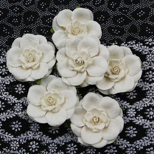 Prima - Alabaster Collection - Flower Embellishments - Alissa
