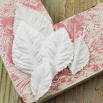 Prima - Heirloom Rose Collection - Velvet Leaves - Aspen