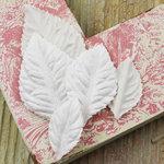 Prima - Heirloom Rose Collection - Velvet Leaves - Aspen