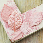 Prima - Heirloom Rose Collection - Velvet Leaves - Cameo