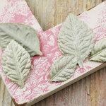 Prima - Heirloom Rose Collection - Velvet Leaves - Sage