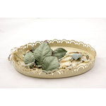 Prima - Heirloom Collection - Mulberry Paper Leaves - Willow, CLEARANCE