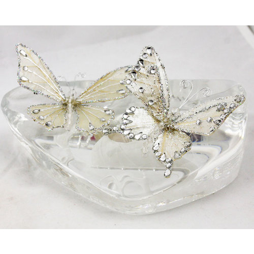 Prima - Jewel Box Collection - Jeweled Butterflies - Crystal