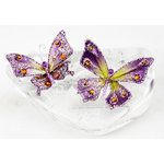 Prima - Jewel Box Collection - Jeweled Butterflies - Amethyst, CLEARANCE