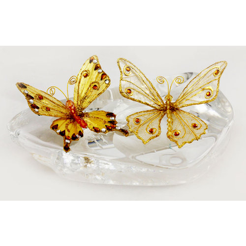 Prima - Jewel Box Collection - Jeweled Butterflies - Maya, CLEARANCE