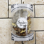 Prima - Sprites 3 Brights Collection - Assorted Flowers - Brown