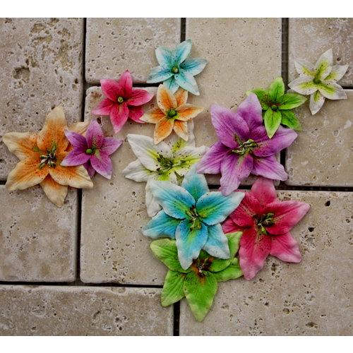 Prima - Evelyn Collection - Flower Embellishments - Lisle Multi
