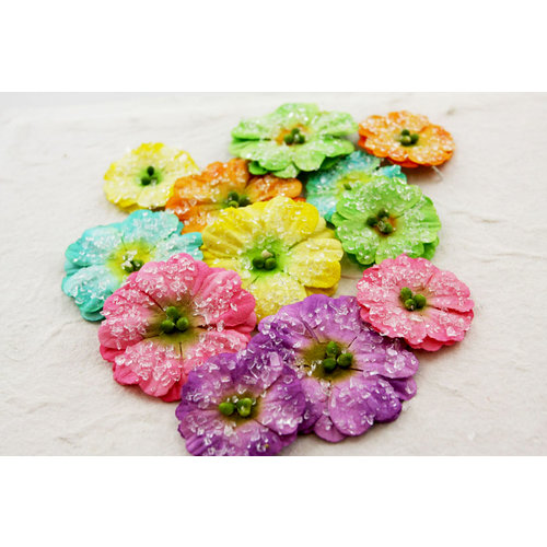 Prima - Evelyn Collection - Flower Embellishments - Sugar Blooms