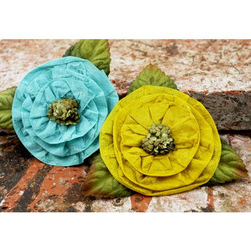 Prima - Fairyring Flowers Collection - Flower Embellishments - Sunlight