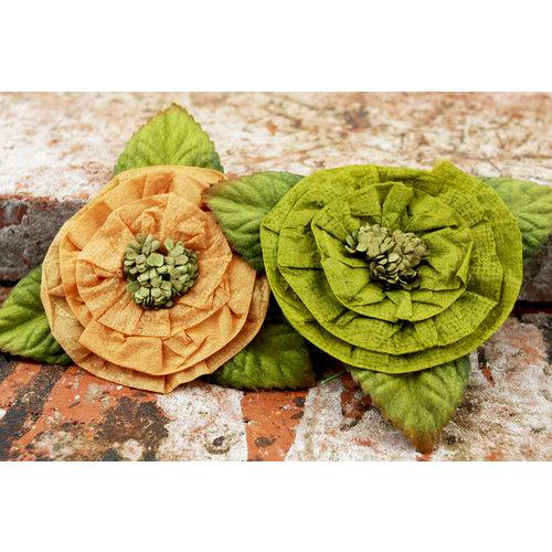 Prima - Fairyring Flowers Collection - Flower Embellishments - Honeydew