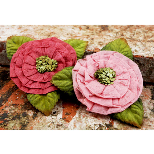 Prima - Fairyring Flowers Collection - Flower Embellishments - Camellia