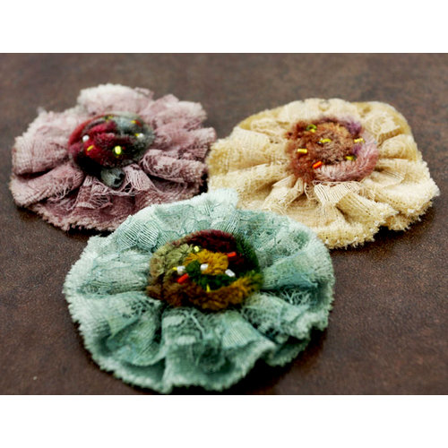Prima - Moulin Rouge Collection - Flower Embellishments - Camille, CLEARANCE