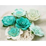 Prima - Trellis Roses Collection - Flower Embellishments - Fontaine