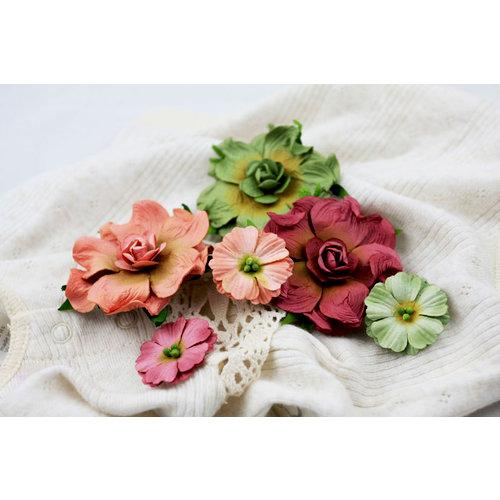 Prima - Camelot Collection - Flower Embellishments - Burton