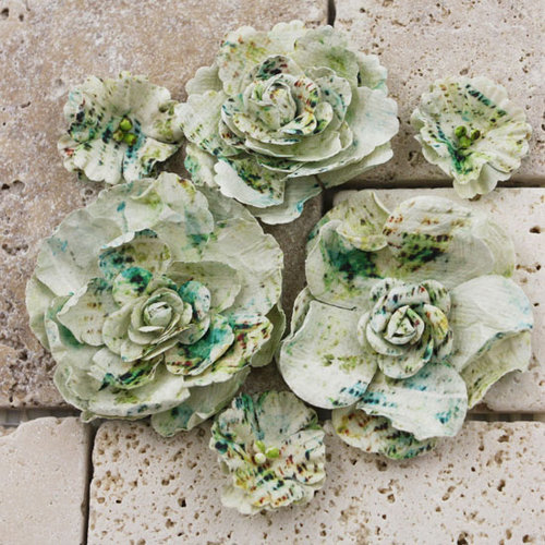 Prima - Gallery Roses Collection - Flower Embellishments - Pierre , CLEARANCE