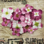 Prima - Painterly Petals Collection - Flower Embellishments - Hydrangeas - Lavender