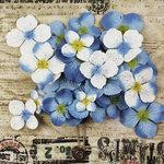 Prima - Painterly Petals Collection - Flower Embellishment Bag - Hydrangeas - Blue, BRAND NEW