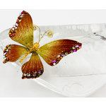Prima - Bejeweled Butterflies Collection - Orange Butterfly, BRAND NEW