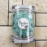 Prima - Sprites 3 Antique Collection - Assorted Flowers - Teal
