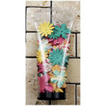 Prima - Essentials 7 Collection - Flower Embellishments - Paradise City, BRAND NEW