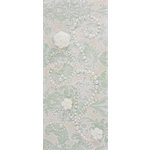 Prima - Say It In Pearls Collection - Self Adhesive Jewel Art - Bling - Fairy Dust with Flowers - Cream, CLEARANCE