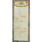 Prima - Say It In Pearls Collection - Self Adhesive Jewel Art - Bling - Mini Flourish with Roses - Light Pink, CLEARANCE