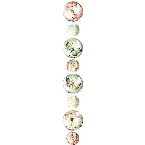 Prima - Pebbles Collection - Self Adhesive Pebbles - Flights of Fancy