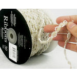 Prima - Lace Collection - Champagne and Pearls Spool - 30 Yards