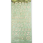 Prima - Textured Alphabet Stickers - Ivory, CLEARANCE