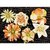 Prima - Melange Collection - Flower Embellishments - Peach, CLEARANCE