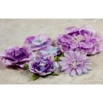 Prima - Symphony Blend - Flower Embellishments - Arietta Lilac, CLEARANCE