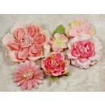 Prima - Symphony Blend - Flower Embellishments - Amoroso Pink