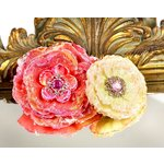 Prima - Grand Dame Collection - Fabric Flower Embellishments - Ambrosia