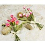 Prima - Mini Bouquet Collection - Miniature Mulberry Flower Bouquet - Krista, CLEARANCE